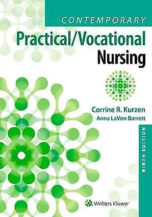 Portada del libro 9781975136215 Contemporary Practical/Vocational Nursing