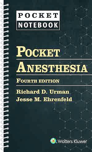 Portada del libro 9781975136796 Pocket Anesthesia