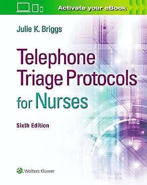 Portada del libro 9781975136871 Telephone Triage Protocols for Nurses