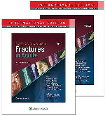 Portada del libro 9781975137298 Rockwood and Green's Fractures in Adults, 2 Vols. (International Edition)