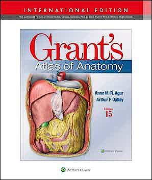 Portada del libro 9781975138783 Grant's Atlas of Anatomy (International Edition)