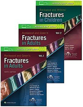 Portada del libro 9781975139759 Rockwood Fractures OTA Adults and Children. NorthAmerican Edition (3 Volume Set)