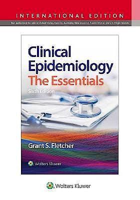 Portada del libro 9781975140984 Clinical Epidemiology. International Edition