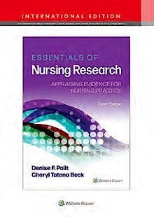 Portada del libro 9781975141882 Essentials of Nursing Research. Appraising Evidence for Nurse Practice. International Edition