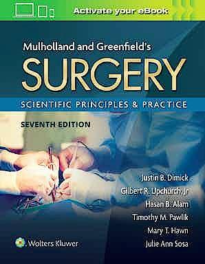 Portada del libro 9781975143169 Mulholland & Greenfield's Surgery Scientific Principles and Practice
