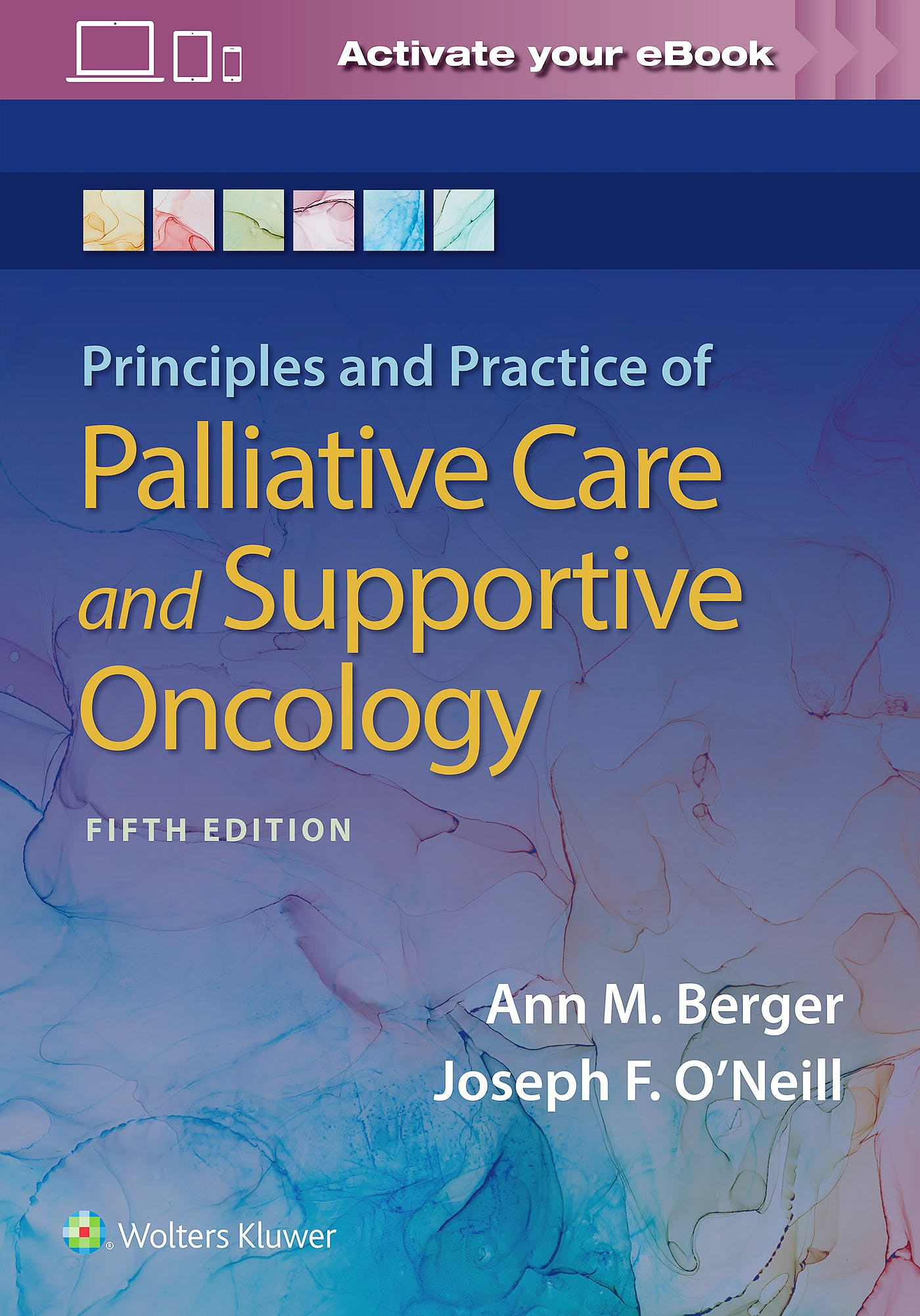 Portada del libro 9781975143688 Principles and Practice of Palliative Care and Support Oncology