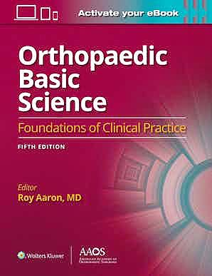 Portada del libro 9781975148164 Orthopaedic Basic Science. Foundations of Clinical Practice (Print + Ebook with Multimedia)