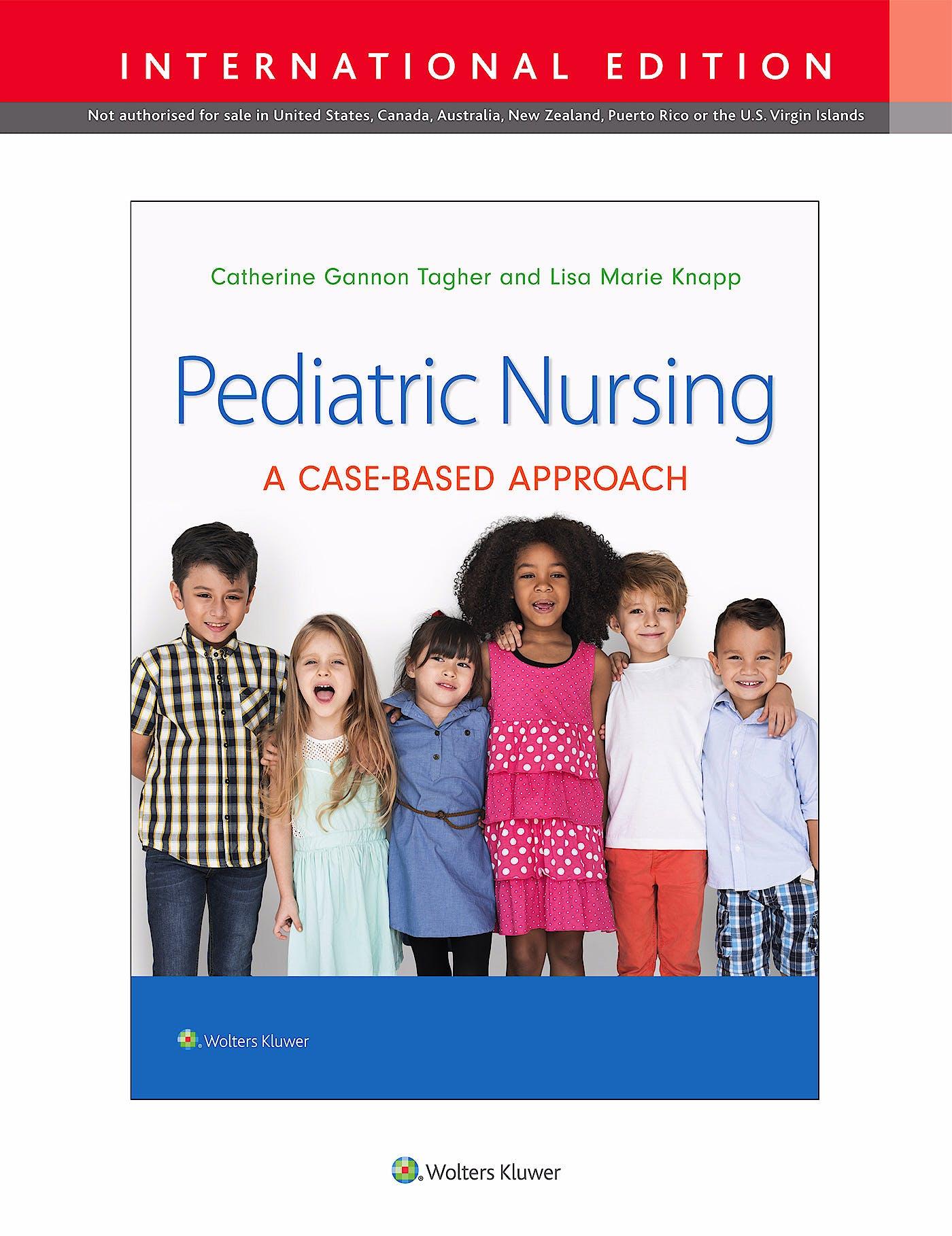Portada del libro 9781975149956 Pediatric Nursing (International Edition)
