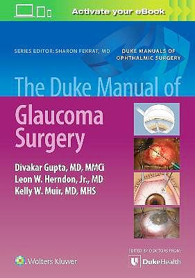 Portada del libro 9781975150563 The Duke Manual of Glaucoma Surgery