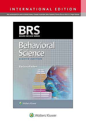 Portada del libro 9781975152390 BRS Behavioral Science (International Edition)