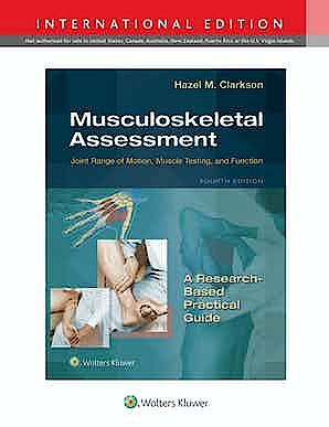 Portada del libro 9781975152406 Musculoskeletal Assessment. Joint Range of Motion, Muscle Testing, and Function. International Edition
