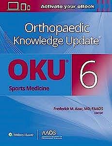 Portada del libro 9781975152642 Orthopaedic Knowledge Update® (OKU): Sports Medicine 6