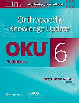 Portada del libro 9781975152680 Orthopaedic Knowledge Update® (OKU): Pediatrics 6
