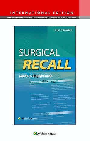 Portada del libro 9781975152970 Surgical Recall. International Edition