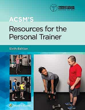 Portada del libro 9781975153205 ACSM's Resources for the Personal Trainer