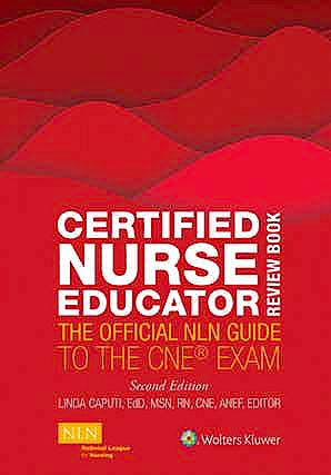Portada del libro 9781975154059 Certified Nurse Educator Review Book. The Official NLN Guide to the CNE Exam