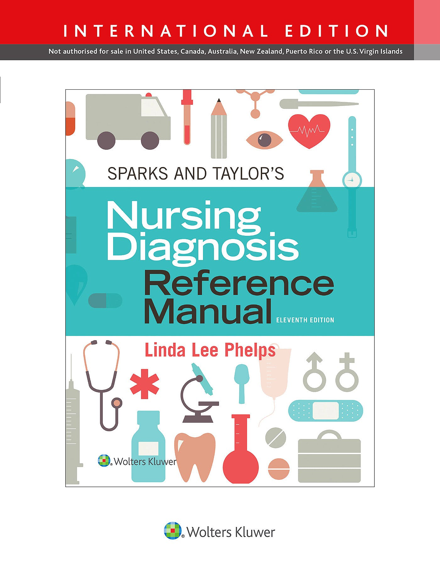 Portada del libro 9781975154943 Sparks and Taylor's Nursing Diagnosis Reference Manual (International Edition)