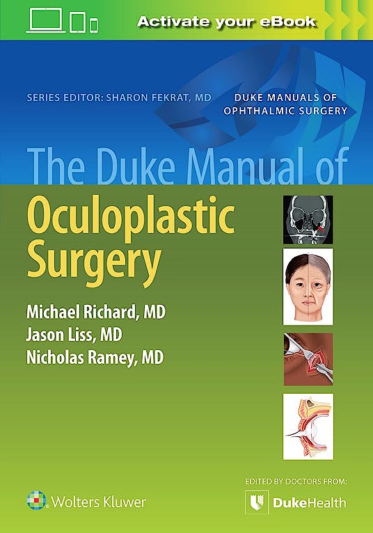Portada del libro 9781975157074 The Duke Manual of Oculoplastic Surgery