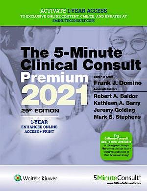 Portada del libro 9781975157579 5-Minute Clinical Consult 2021 Premium (1-Year Enhanced Online Access + Print)