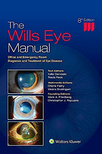 Portada del libro 9781975160753 The Wills Eye Manual. Office and Emergency Room Diagnosis and Treatment of Eye Disease