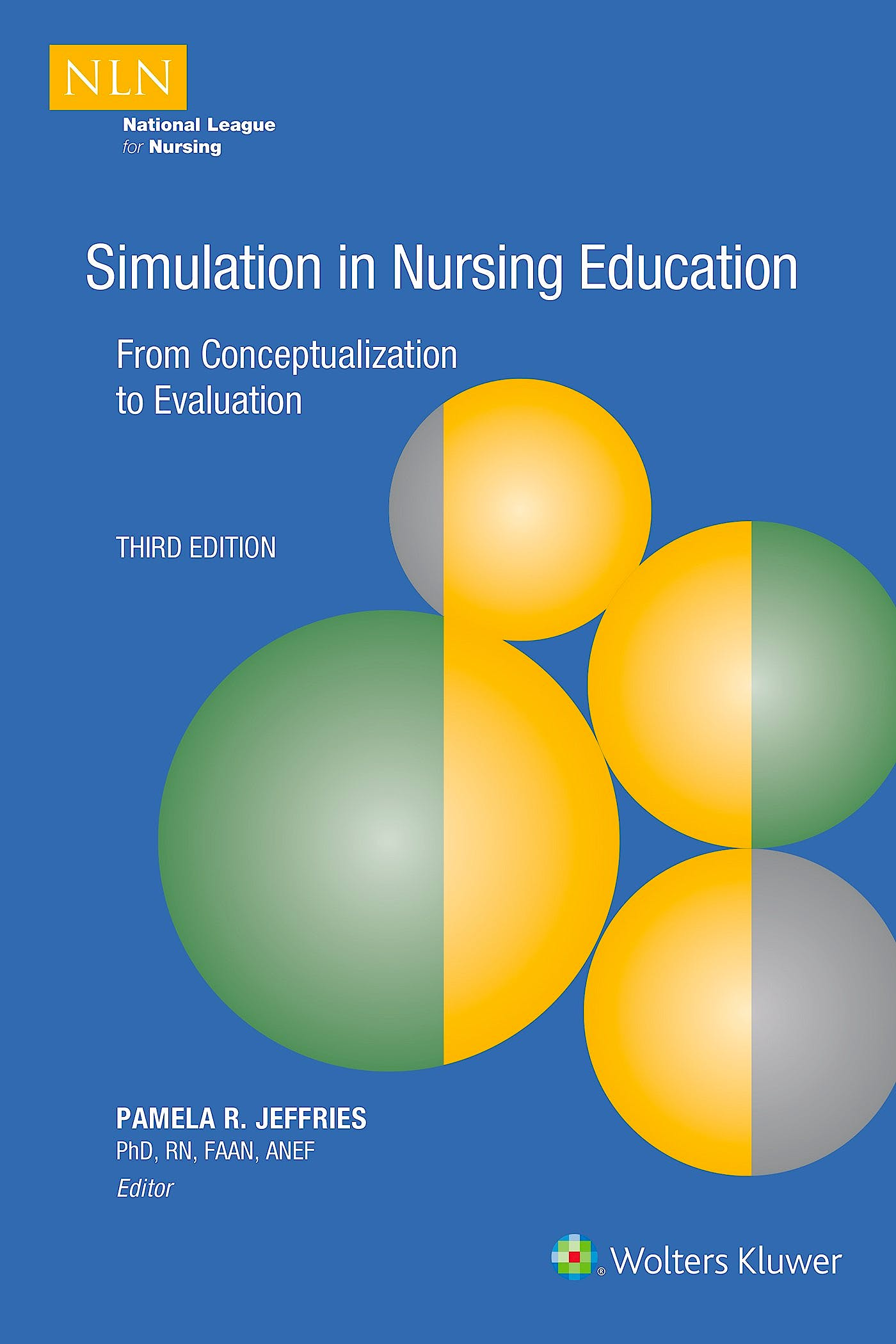 Portada del libro 9781975165703 Simulation in Nursing Education