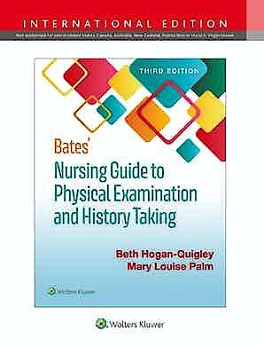 Portada del libro 9781975171209 Bates' Nursing Guide to Physical Examination and History Taking. International Edition