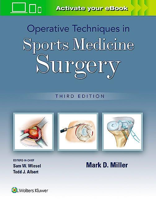 Portada del libro 9781975172022 Operative Techniques in Sports Medicine Surgery