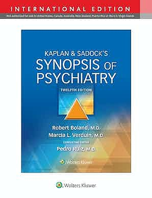 Portada del libro 9781975173128 Kaplan & Sadock's Synopsis of Psychiatry. International Edition