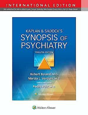 Portada del libro 9781975173128 Kaplan and Sadock's Synopsis of Psychiatry. International Edition