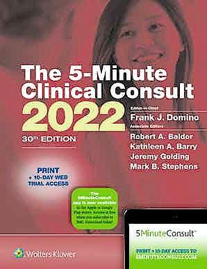 Portada del libro 9781975179953 5-Minute Clinical Consult 2022