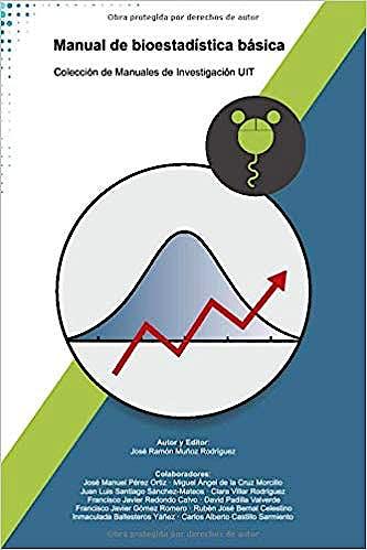 Portada del libro 9781980574439 Manual de Bioestadística Básica