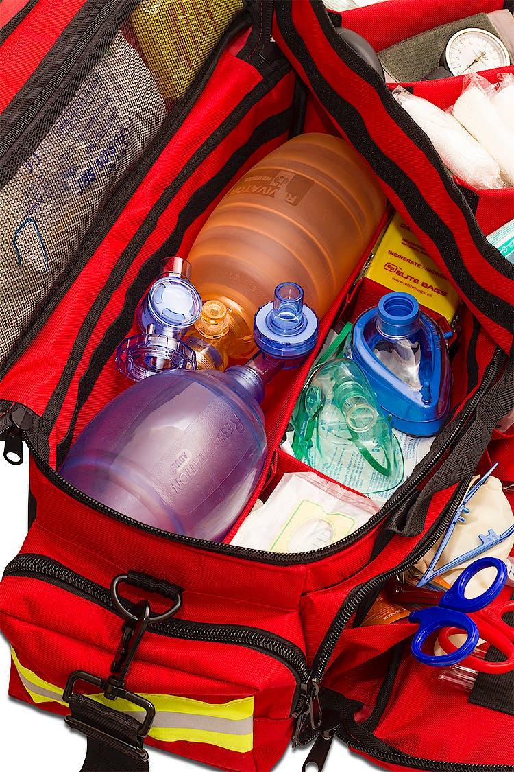 Bolsa Oxigenoterapia de Loneta Roja Modelo EM13.005
