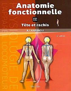 Portada del libro 9782224026493 Anatomie Fonctionnelle, Tome 3: Tete Et Rachis