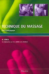 Portada del libro 9782224028565 Technique Du Massage