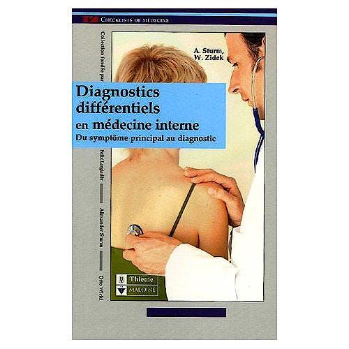 Portada del libro 9782224028831 Diagnostics Différentiels en Médecine Interne : Du Symptôme…
