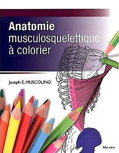 Portada del libro 9782224030544 Anatomie Musculosquelettique à Colorier