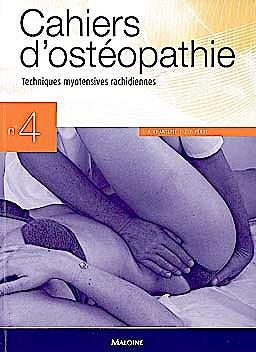 Portada del libro 9782224031060 Cahiers D'osteopathie Nº4: Techniques Myotensives Rachidiennes