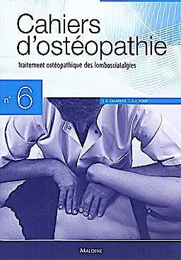 Portada del libro 9782224031114 Cahiers D'osteopathie Nº6: Traitement Osteopathique Des Lombosciatalgies