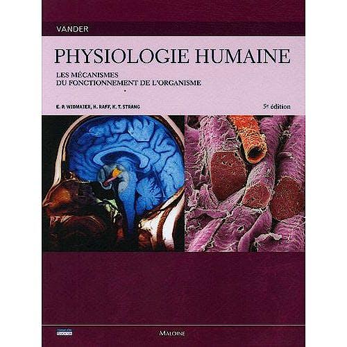 Portada del libro 9782224031169 Vander Physiologie Humaine. Les Mécanismes Du Fonctionnement de L'organisme