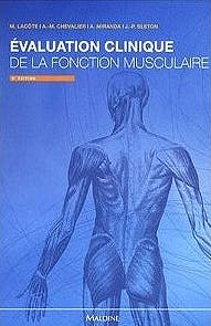 Portada del libro 9782224033507 Évaluation Clinique de la Fonction Musculaire