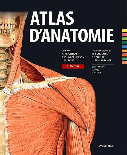 Portada del libro 9782224033514 Atlas D'anatomie