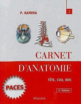 Portada del libro 9782224034153 Carnet D'anatomie, Tome 2: Tete, Cou, Dos