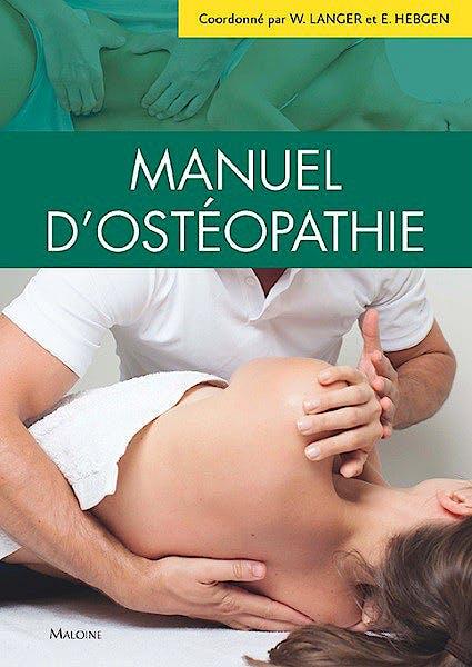 Portada del libro 9782224034276 Manuel D'osteopathie
