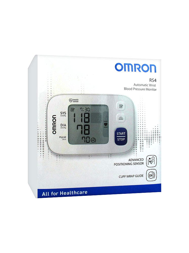Tensiómetro de Muñeca OMRON RS4