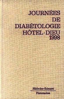 Portada del libro 9782257107879 Journees de Diabetologie Hotel Dieu 1998