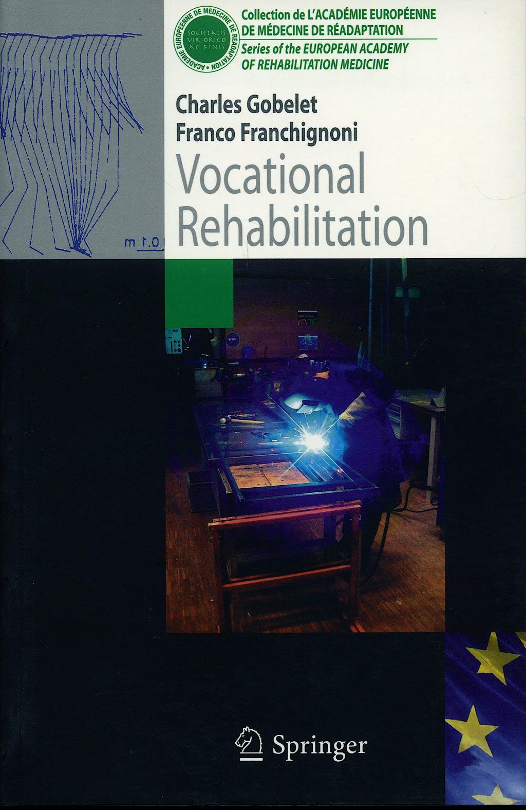 Portada del libro 9782287226090 Vocational Rehabilitation