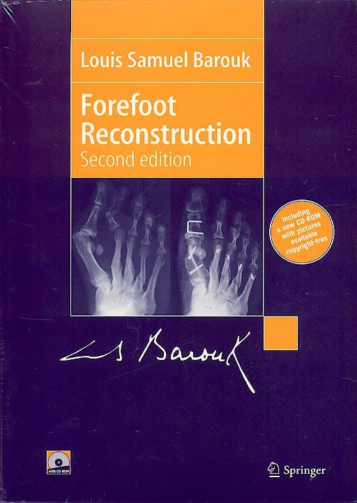 Portada del libro 9782287252518 Forefoot Reconstruction + Cd-Rom