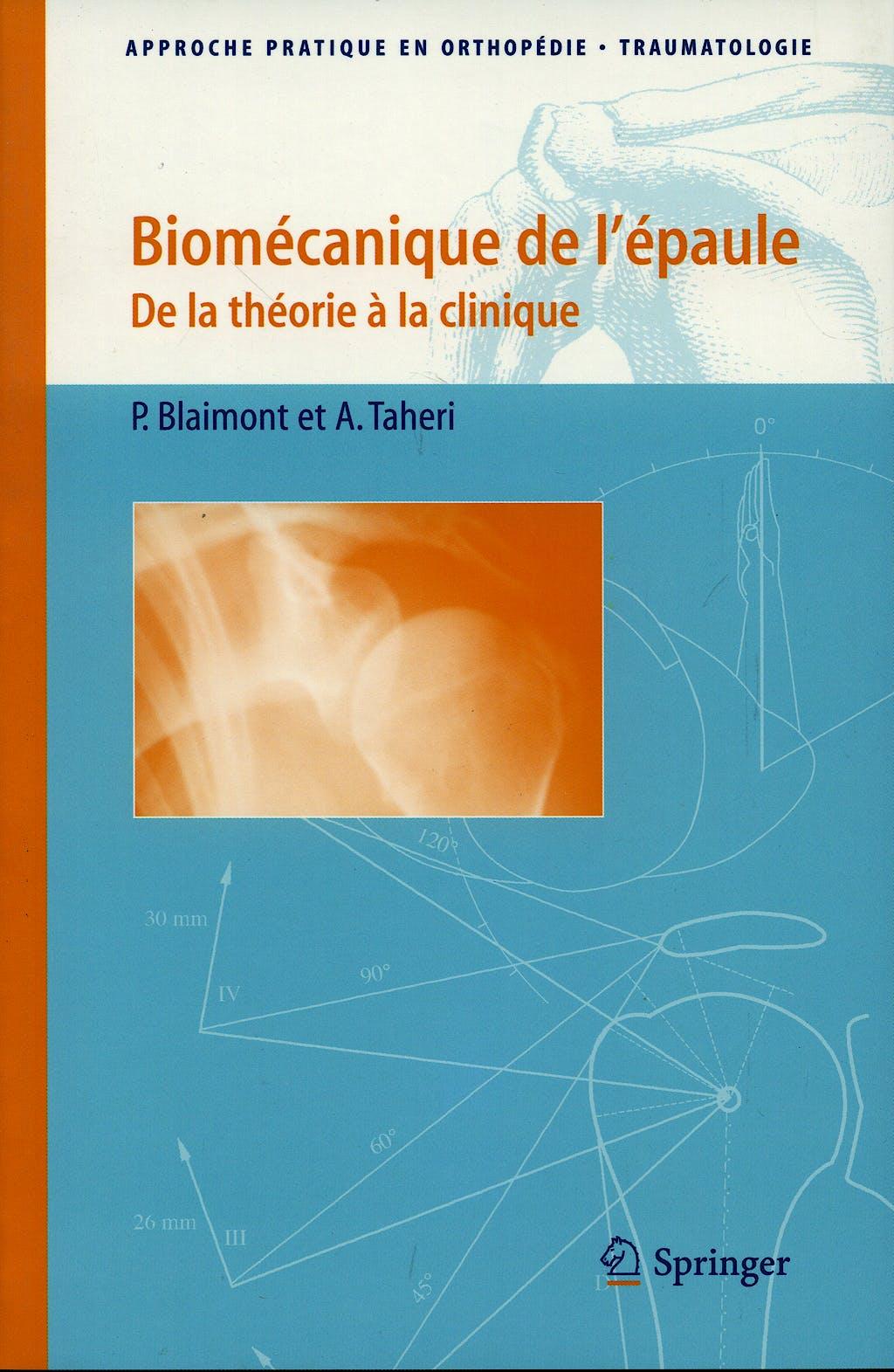 Portada del libro 9782287310911 Biomecanique de L'épaule
