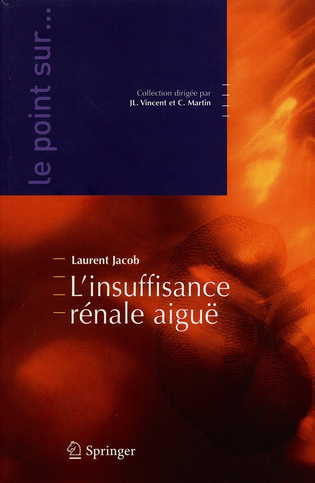 Portada del libro 9782287711510 L´insuffisance Renale Aigue