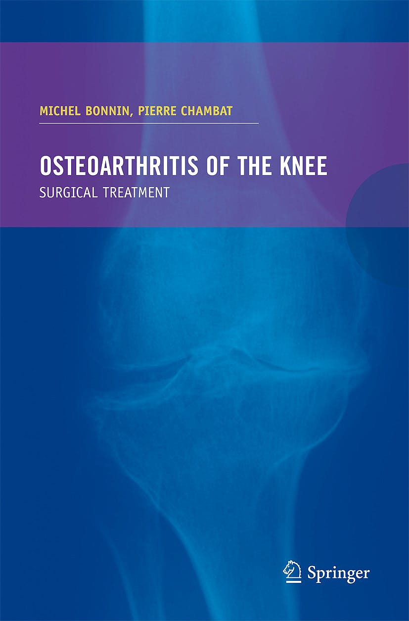 Portada del libro 9782287741746 Osteoarthritis of the Knee. Surgical Treatment